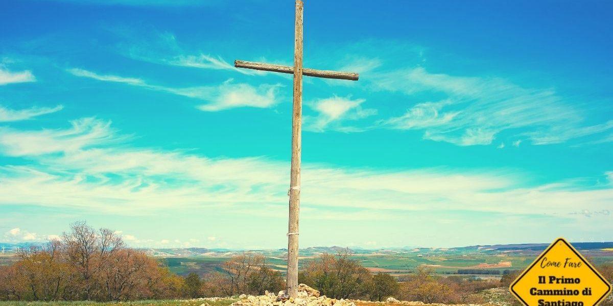 Cruz de hierro cammino di santiago croce di ferro Atapuerca Burgos Camino de Santiago
