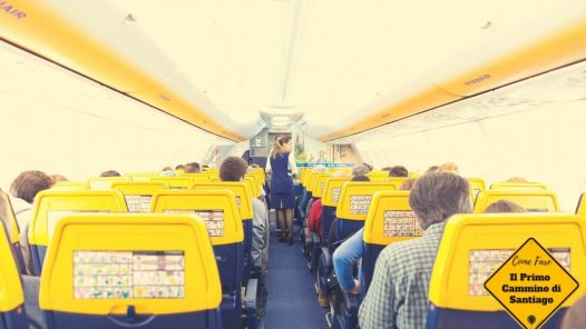 Ryanair Roma bergamo milano santiago di compostela cammino di santiago