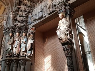 portico della gloria cammino di santiago di compostela